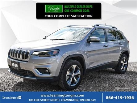 2019 Jeep Cherokee Limited (Stk: 19-256A) in Leamington - Image 1 of 30