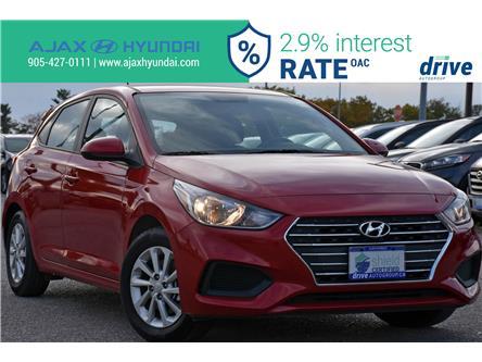 2019 Hyundai Accent Preferred (Stk: P4843R) in Ajax - Image 1 of 29