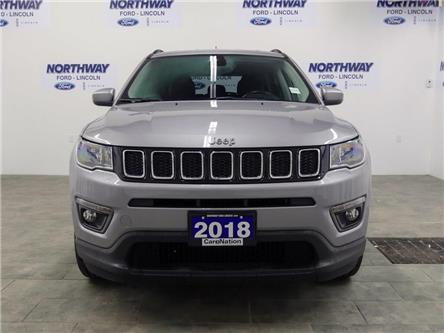 2018 Jeep Compass North | 4x4 | LEATHER | BLUETOOTH | PUSH START | (Stk: DR524) in Brantford - Image 2 of 32