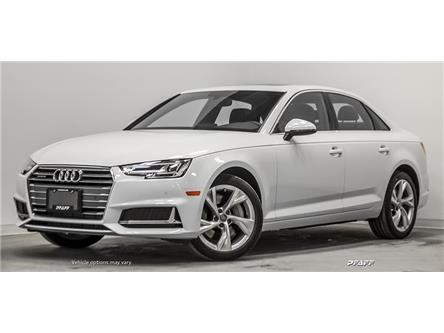 2019 Audi A4 45 Progressiv (Stk: T17582) in Vaughan - Image 1 of 20