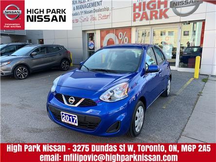2017 Nissan Micra SV (Stk: U1401) in Toronto - Image 1 of 17