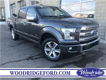 2015 Ford F-150 Platinum (Stk: 17321A) in Calgary - Image 1 of 21