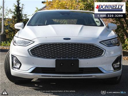 2019 Ford Fusion Hybrid Titanium (Stk: DUR6291) in Ottawa - Image 2 of 28