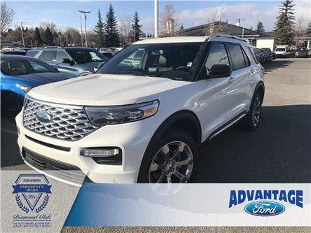 2020 Ford Explorer Platinum (Stk: L-046) in Calgary - Image 1 of 12