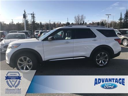 2020 Ford Explorer Platinum (Stk: L-046) in Calgary - Image 2 of 12