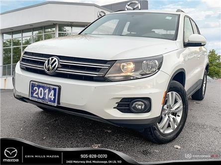 2014 Volkswagen Tiguan Trendline (Stk: 19-0877TA) in Mississauga - Image 1 of 19