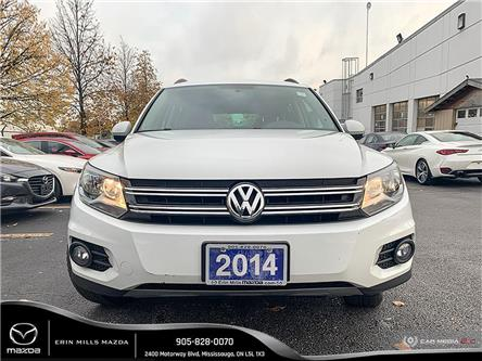 2014 Volkswagen Tiguan Trendline (Stk: 19-0877TA) in Mississauga - Image 2 of 19