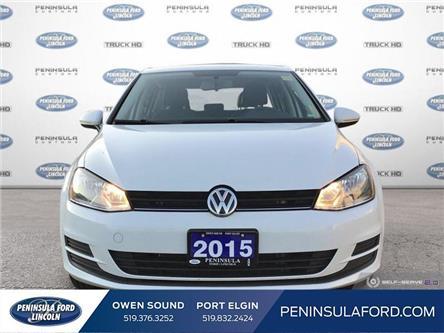 2015 Volkswagen Golf 1.8 TSI Comfortline (Stk: 19EC04A) in Owen Sound - Image 2 of 26