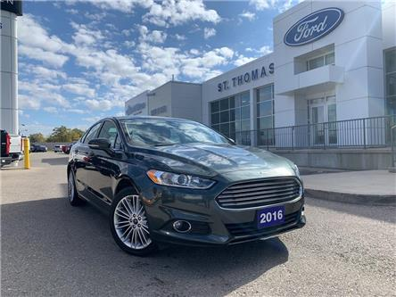 2016 Ford Fusion SE (Stk: T9813A) in St. Thomas - Image 1 of 24