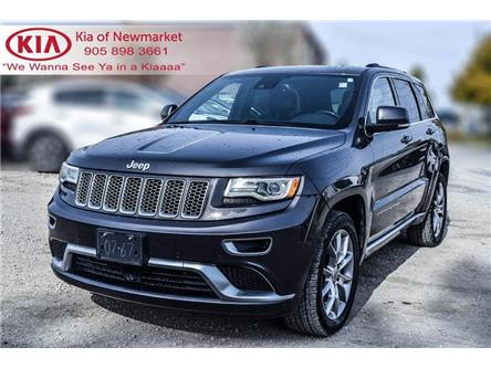 2016 Jeep Grand Cherokee Summit (Stk: P0984A) in Newmarket - Image 2 of 40