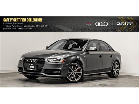2015 Audi S4 3.0T Technik (Stk: T17326A) in Woodbridge - Image 1 of 44