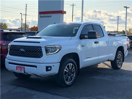 2018 Toyota Tundra SR5 Plus 5.7L V8 (Stk: W4889) in Cobourg - Image 1 of 28
