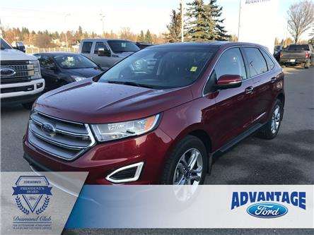 2018 Ford Edge Titanium (Stk: K-2213A) in Calgary - Image 1 of 23