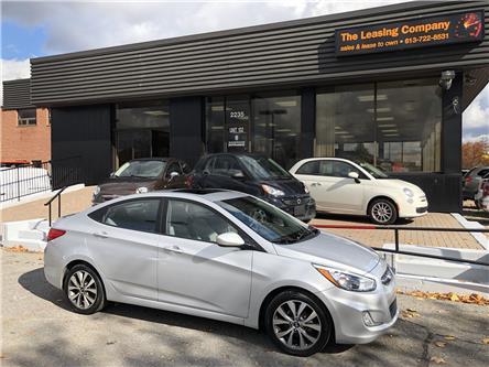2016 Hyundai Accent GLS (Stk: -) in Ottawa - Image 1 of 14