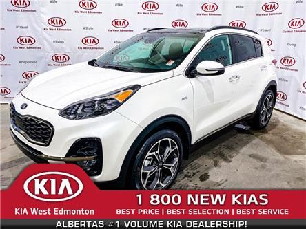 2020 Kia Sportage SX (Stk: 21936) in Edmonton - Image 1 of 40