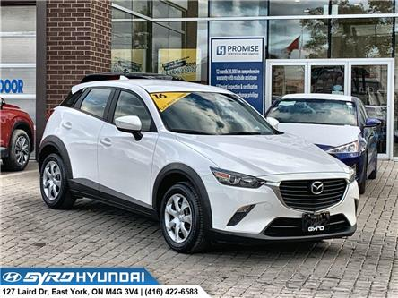 2016 Mazda CX-3 GX (Stk: H5323) in Toronto - Image 1 of 28