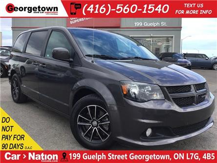 2018 Dodge Grand Caravan GT | LEATHER | PWR DOORS | CAM | HTD WHL/STS | (Stk: DR588) in Georgetown - Image 1 of 28
