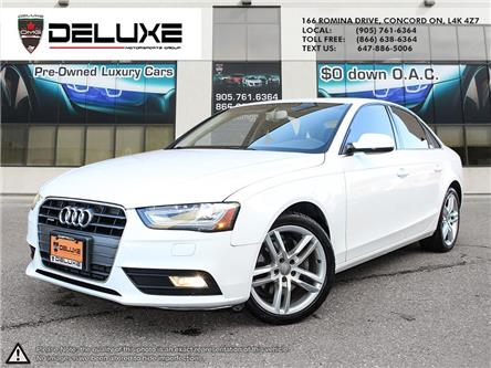 2013 Audi A4 2.0T Premium (Stk: D0632T) in Concord - Image 1 of 14