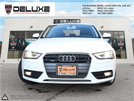 2013 Audi A4 2.0T Premium (Stk: D0632T) in Concord - Image 2 of 14