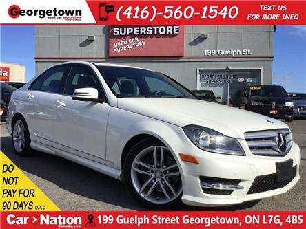 2013 Mercedes-Benz C-Class 300 4MATIC | CLEAN CARFAX | LTHR | ROOF | NAVI (Stk: P12681) in Georgetown - Image 1 of 29