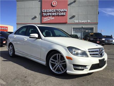 2013 Mercedes-Benz C-Class 300 4MATIC | CLEAN CARFAX | LTHR | ROOF | NAVI (Stk: P12681) in Georgetown - Image 2 of 29