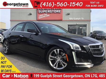 2014 Cadillac CTS 3.6L Twin Turbo Vsport | NAVI | ROOF | BOSE | CAM (Stk: P12688) in Georgetown - Image 1 of 31