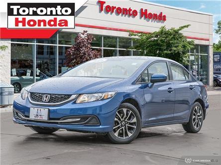 2014 Honda Civic Sedan EX (Stk: 39475) in Toronto - Image 1 of 28