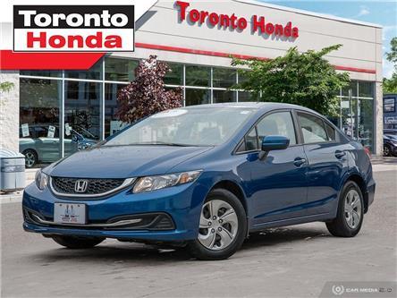 2014 Honda Civic Sedan LX (Stk: 39476) in Toronto - Image 1 of 28