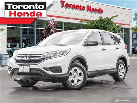 2016 Honda CR-V LX (Stk: 39623) in Toronto - Image 1 of 27