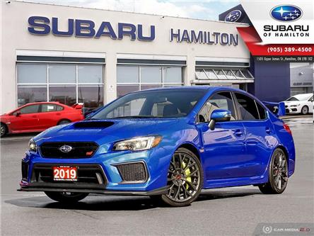 2019 Subaru WRX STI Sport-tech w/Wing (Stk: S7071) in Hamilton - Image 1 of 24