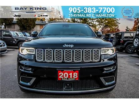 2018 Jeep Grand Cherokee Summit (Stk: 6965) in Hamilton - Image 2 of 21