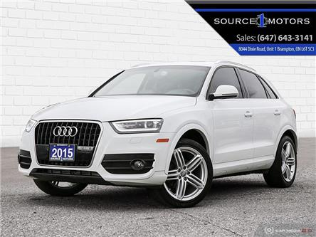 2015 Audi Q3 2.0T Technik (Stk: 003516) in Brampton - Image 1 of 27