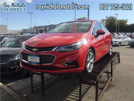 2017 Chevrolet Cruze Premier Auto (Stk: P6458) in Courtice - Image 1 of 12