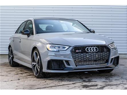 2019 Audi RS 3 2.5T (Stk: N5346) in Calgary - Image 1 of 17