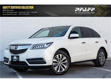 2016 Acura MDX Technology Package (Stk: 38280A) in Markham - Image 1 of 20