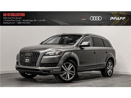 2013 Audi Q7 3.0T Premium (Stk: T17502A) in Woodbridge - Image 1 of 21