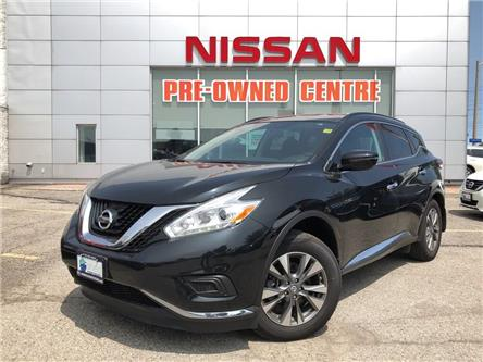 2017 Nissan Murano S-FWD/NAVI (Stk: U3062) in Scarborough - Image 1 of 22