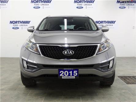 2015 Kia Sportage LX | AWD | HTD SEATS | BLUETOOTH | USB+AUX | (Stk: DR178B) in Brantford - Image 2 of 37