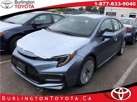 2020 Toyota Corolla SE (Stk: 202067) in Burlington - Image 1 of 5