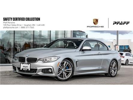 2014 BMW 435i Cabriolet (Stk: P15002A) in Vaughan - Image 1 of 22