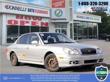 2003 Hyundai Sonata GL (Stk: PBWDUR6161BL) in Ottawa - Image 1 of 28