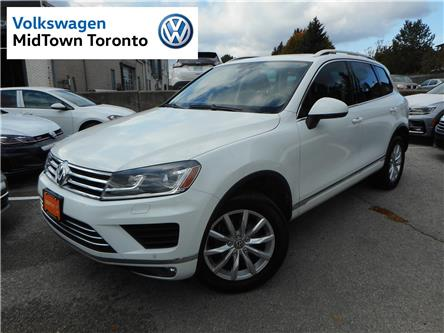 2016 Volkswagen Touareg  (Stk: W1233A) in Toronto - Image 1 of 26