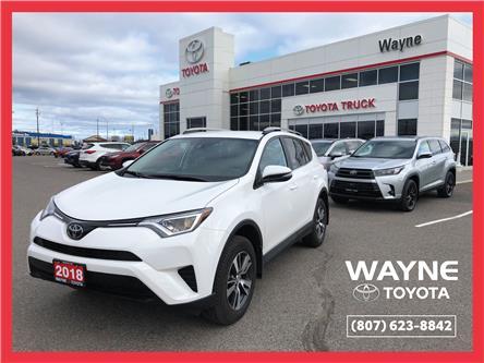 2018 Toyota RAV4 LE (Stk: 11023) in Thunder Bay - Image 1 of 30