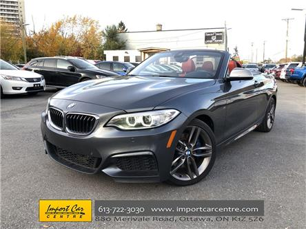 2016 BMW M235i xDrive (Stk: 327376) in Ottawa - Image 1 of 25