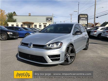 2017 Volkswagen Golf R 2.0 TSI (Stk: 100620) in Ottawa - Image 1 of 25