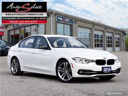 2016 BMW 320i xDrive (Stk: 16M3SP1) in Scarborough - Image 1 of 28