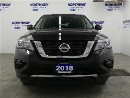 2018 Nissan Pathfinder SV | AWD | NAV | HTD SEATS | 3 ROW | PUSH START | (Stk: DR664) in Brantford - Image 2 of 33
