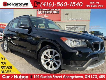 2014 BMW X1 xDrive28i | LEATHER | NAVI|BU CAM|ROOF|CLN CARFAX (Stk: P12699) in Georgetown - Image 1 of 28