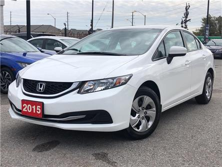 2015 Honda Civic LX (Stk: 58981A) in Scarborough - Image 1 of 20