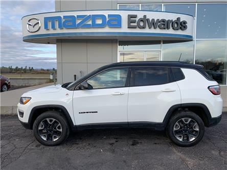 2018 Jeep Compass Trailhawk (Stk: 22096) in Pembroke - Image 1 of 10